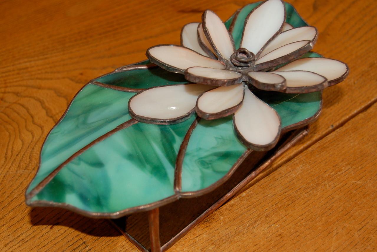 Boite réalisée en Tiffany