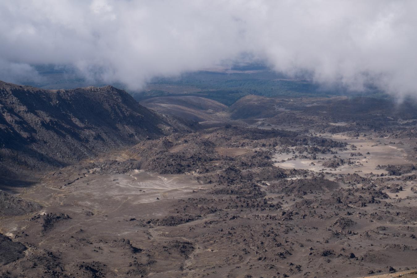 """Lava Landschaft. Bei Herr der Ringe nennen Sie es auch """"Mordor"""""""