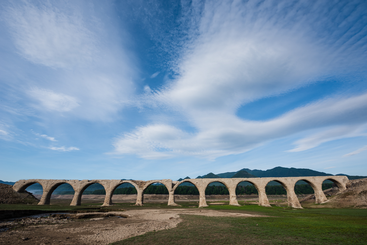 2019.6.26 北海道上士幌町 糠平湖 タウシュベツ川橋梁