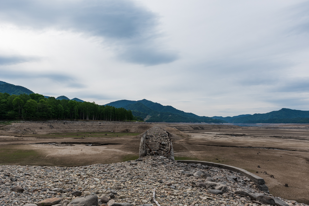 2019.6.4 北海道上士幌町糠平 タウシュベツ川橋梁