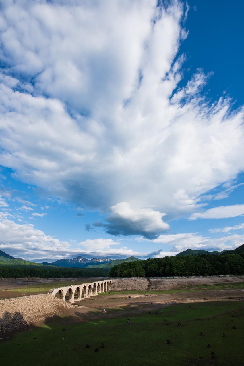 2019.6.18 北海道上士幌町 糠平湖 タウシュベツ川橋梁