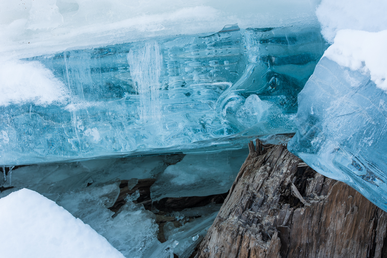 2019.3.18 上士幌町糠平湖 キノコ氷 アイスクラウン サファイアアイス