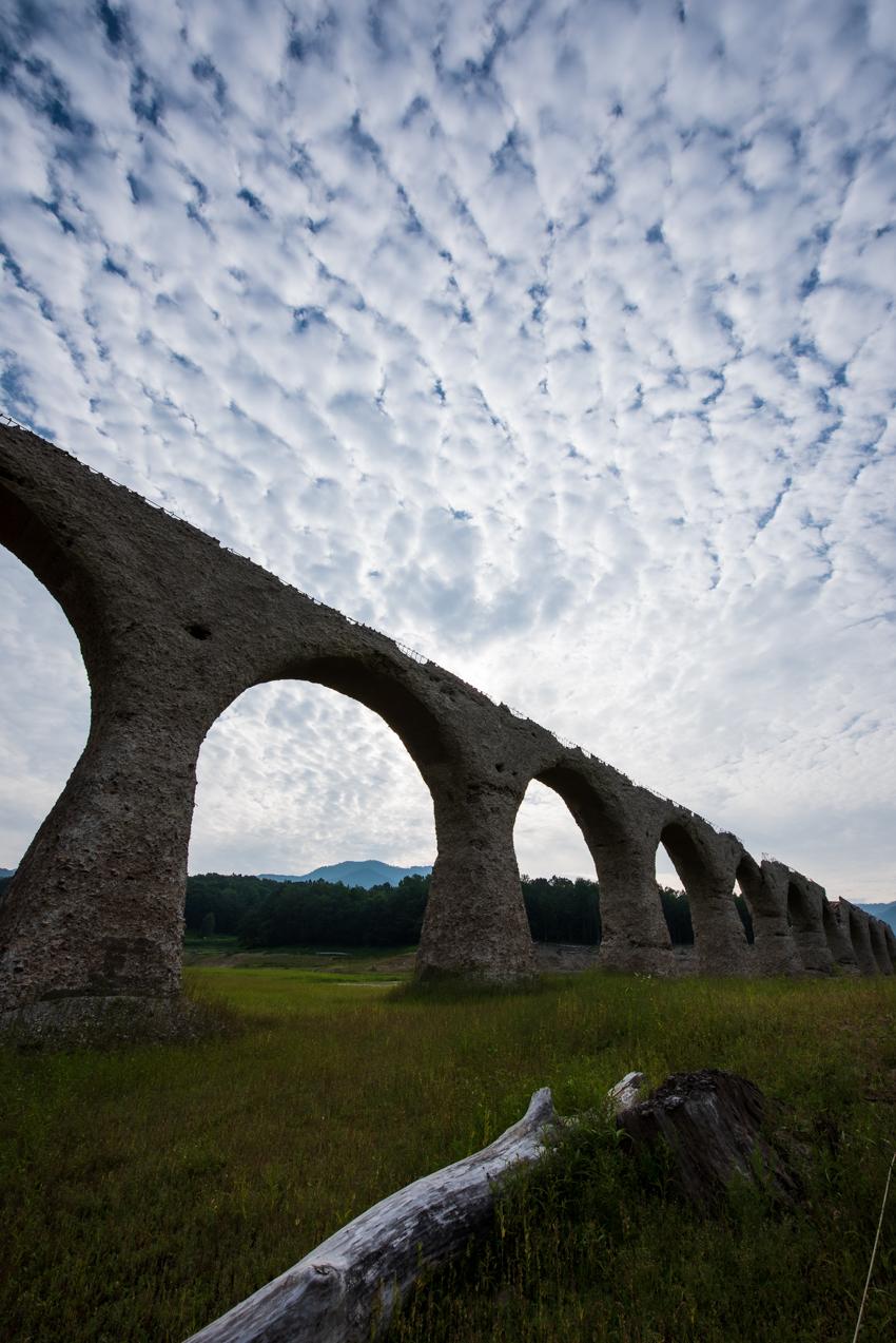2019.8.4 北海道上士幌町 糠平湖 タウシュベツ川橋梁