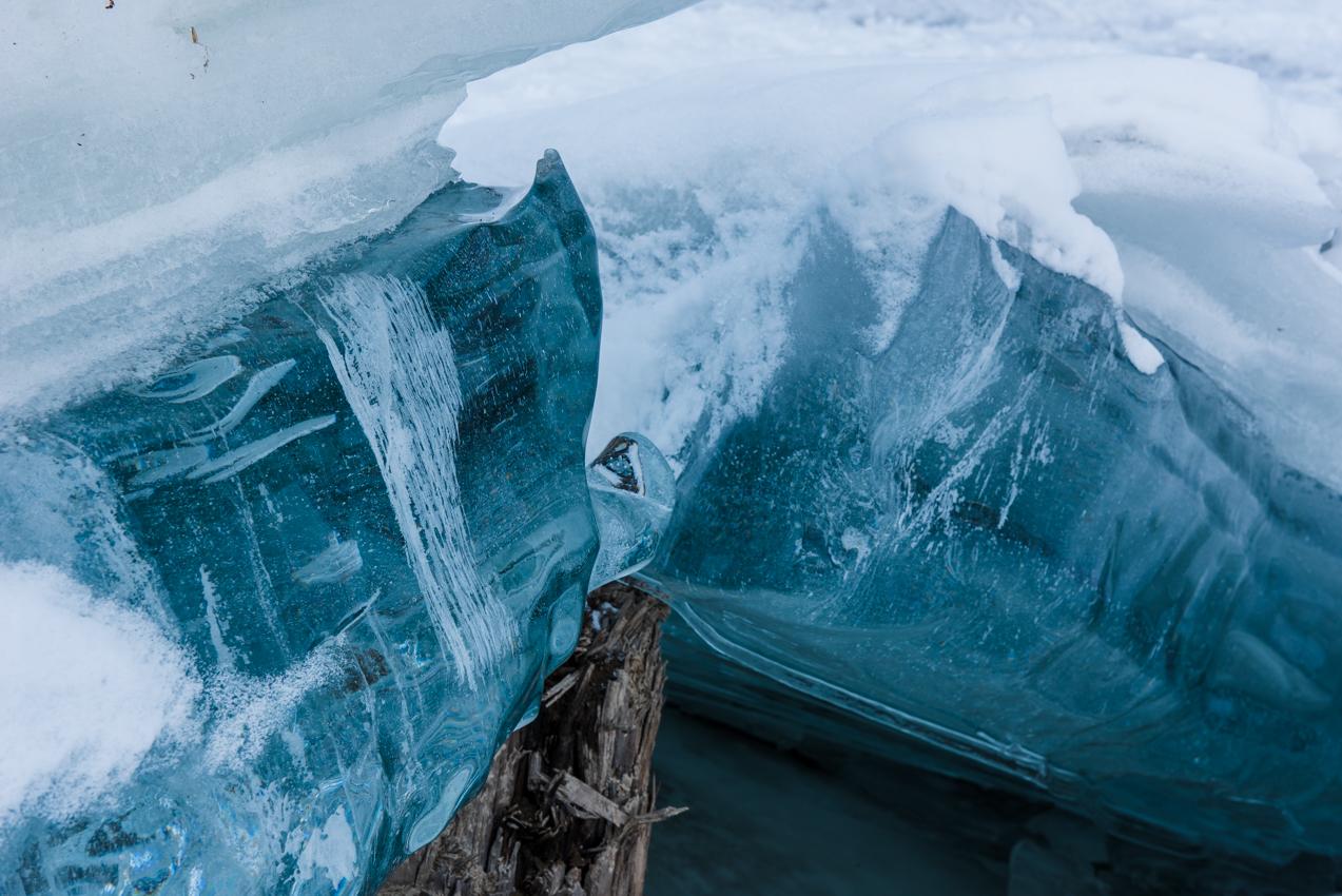 2019.3.18 上士幌町糠平湖 アイスクラウン キノコ氷 サファイアイス