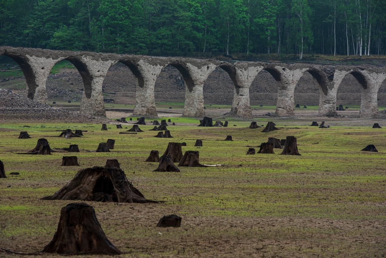 2019.6.7 北海道上士幌町糠平 タウシュベツ川橋梁