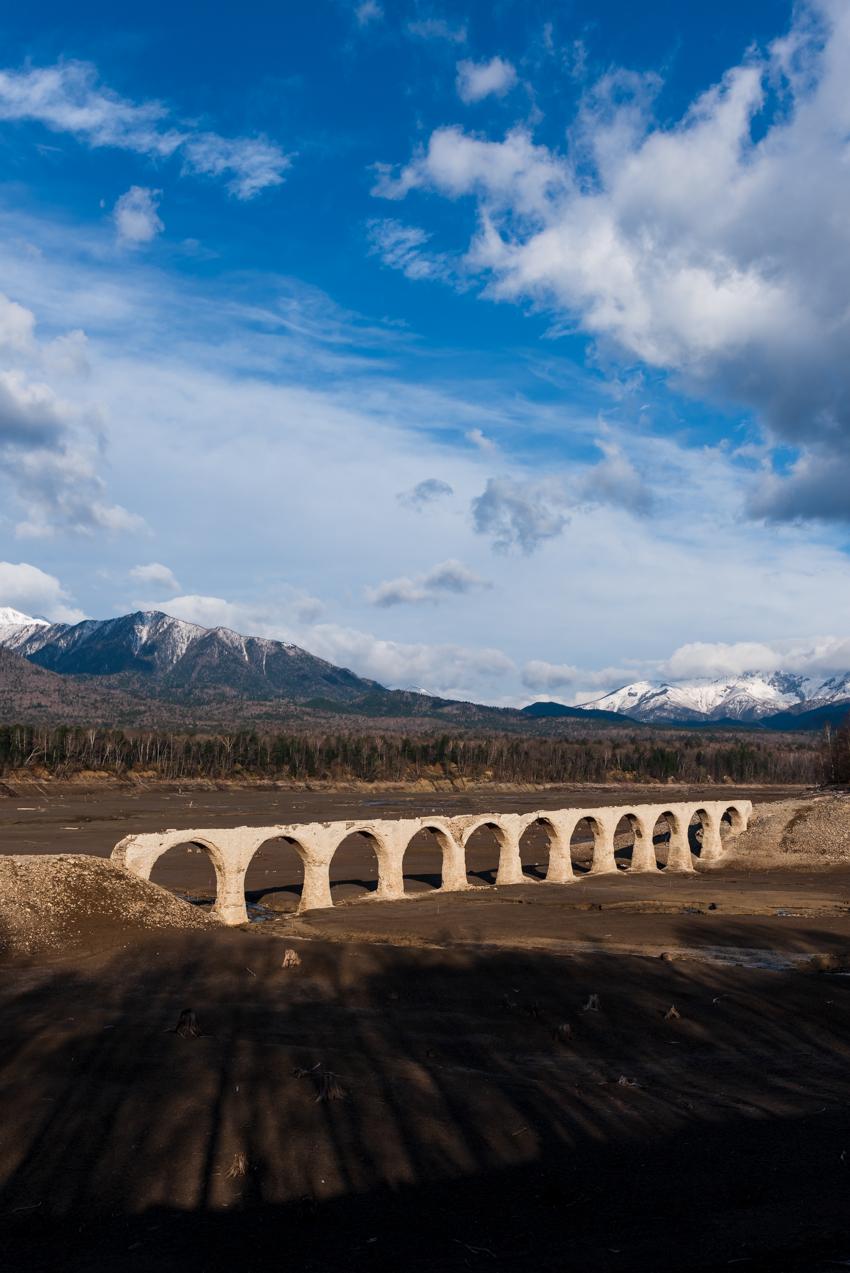 2019.5.8 上士幌町糠平 糠平湖 タウシュベツ川橋梁