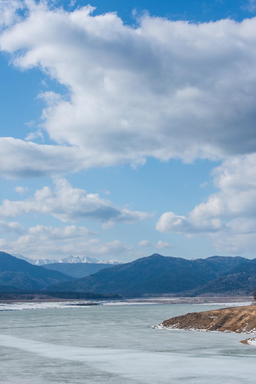 2019.4.21 上士幌町糠平 糠平湖 タウシュベツ川橋梁