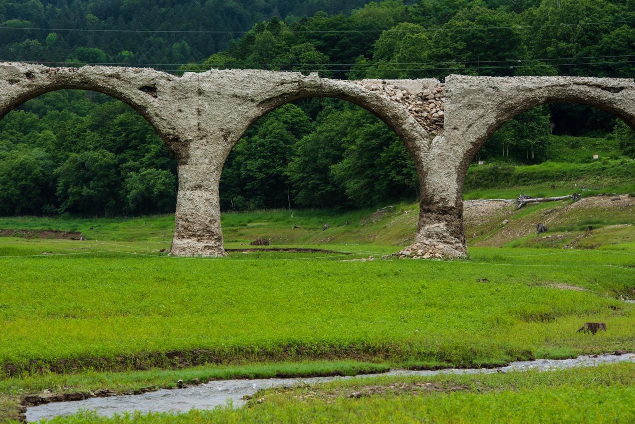 2019.7.16 北海道上士幌町 糠平湖 タウシュベツ川橋梁