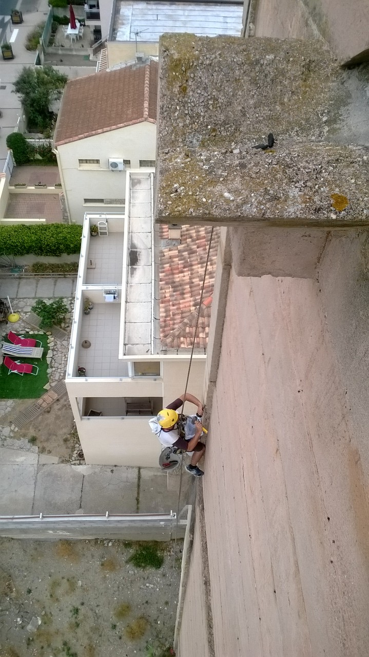 Travaux sur cordes Montpellier