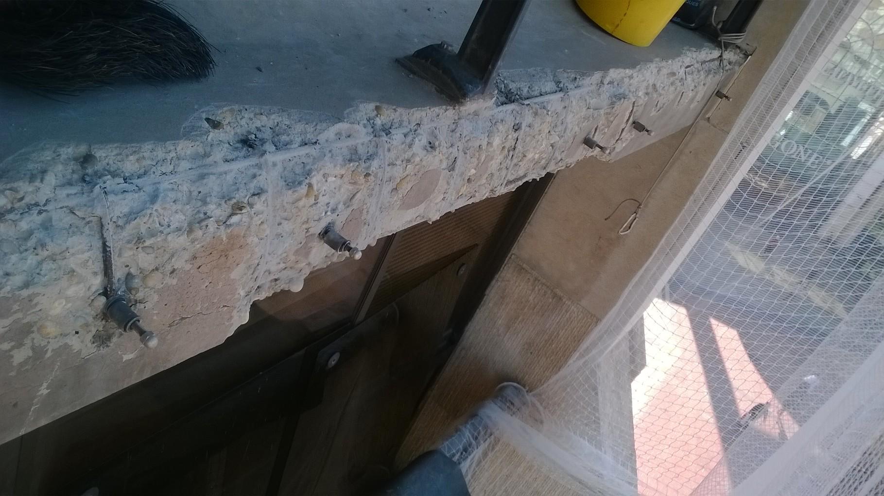 réparation béton hauteur