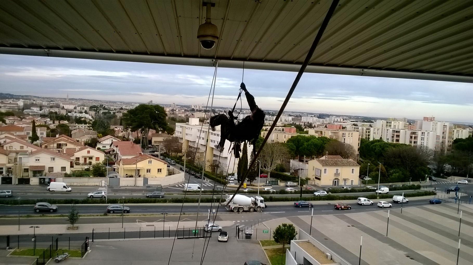 Cordiste Montpellier Purge Hauteur