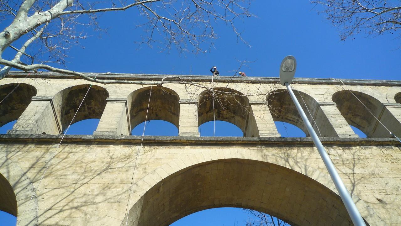 monument historique en hauteur Hérault