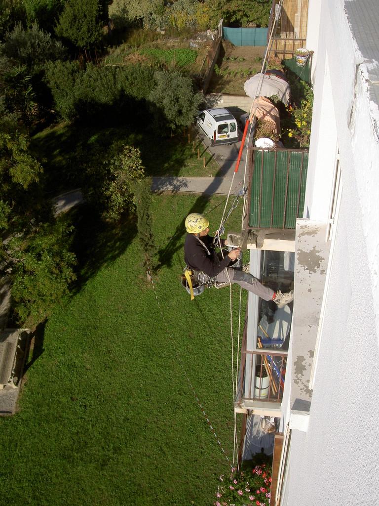 maçonnerie en hauteur Hérault maçon cordiste