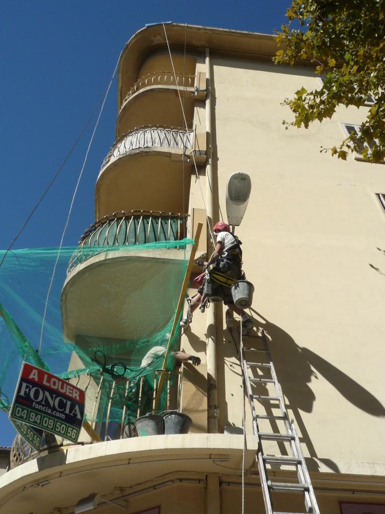 travaux en hauteur montpellier artisan cordiste