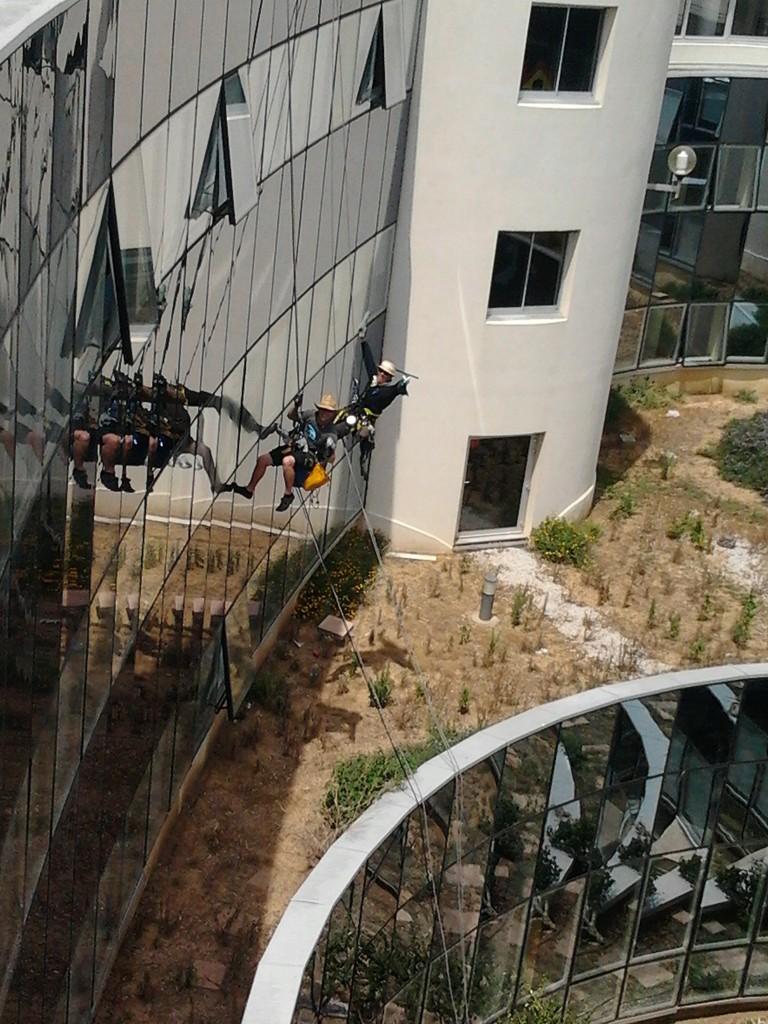 cordiste nettoyage Montpellier travaux hauteur