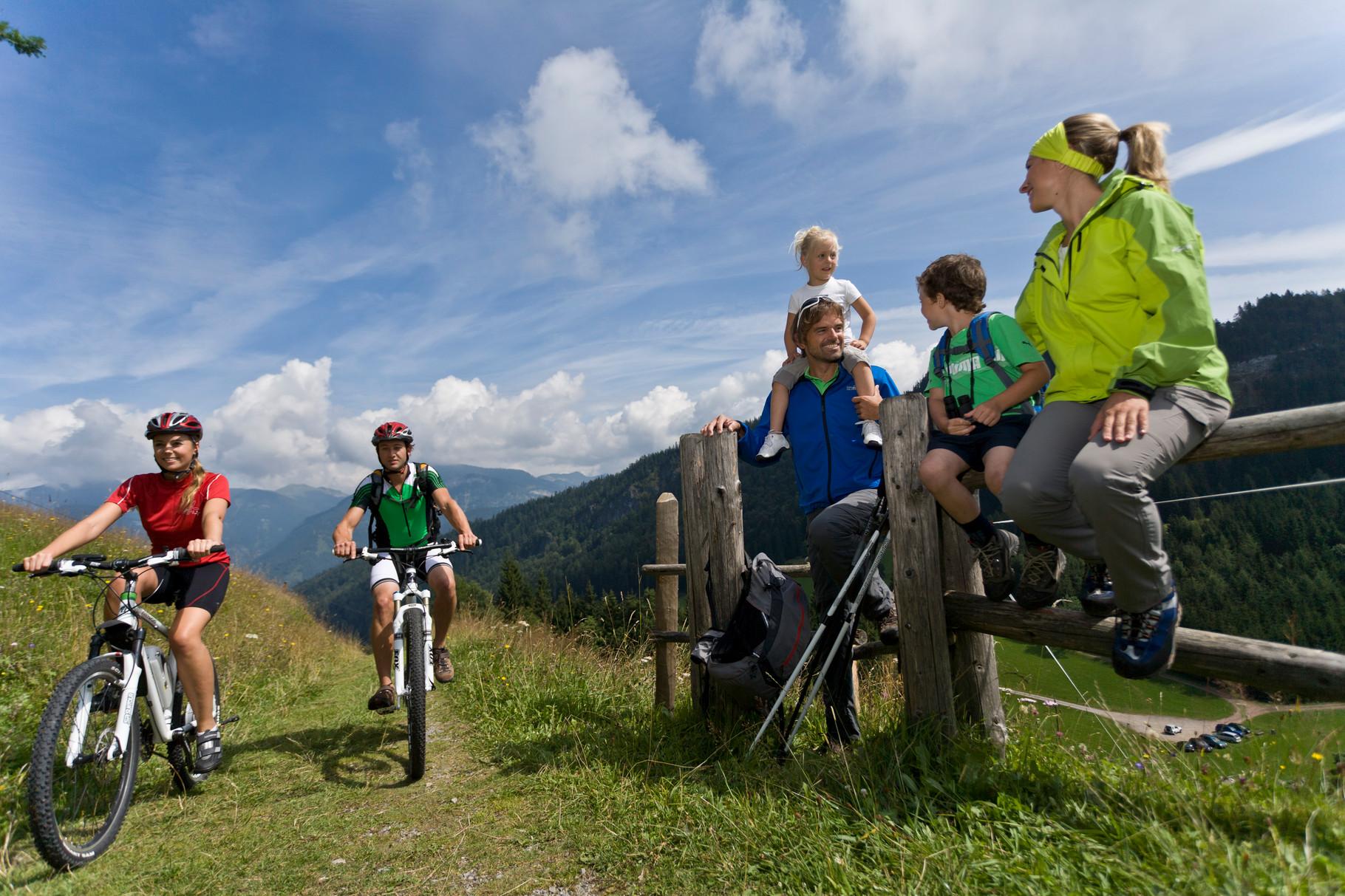 Mountainbiken macht  Spaß