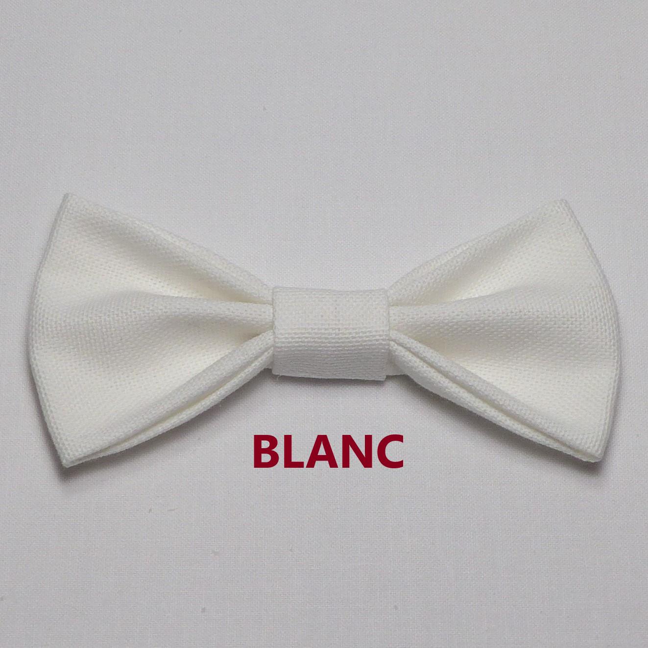Noeud Papillon Mariage Blanc