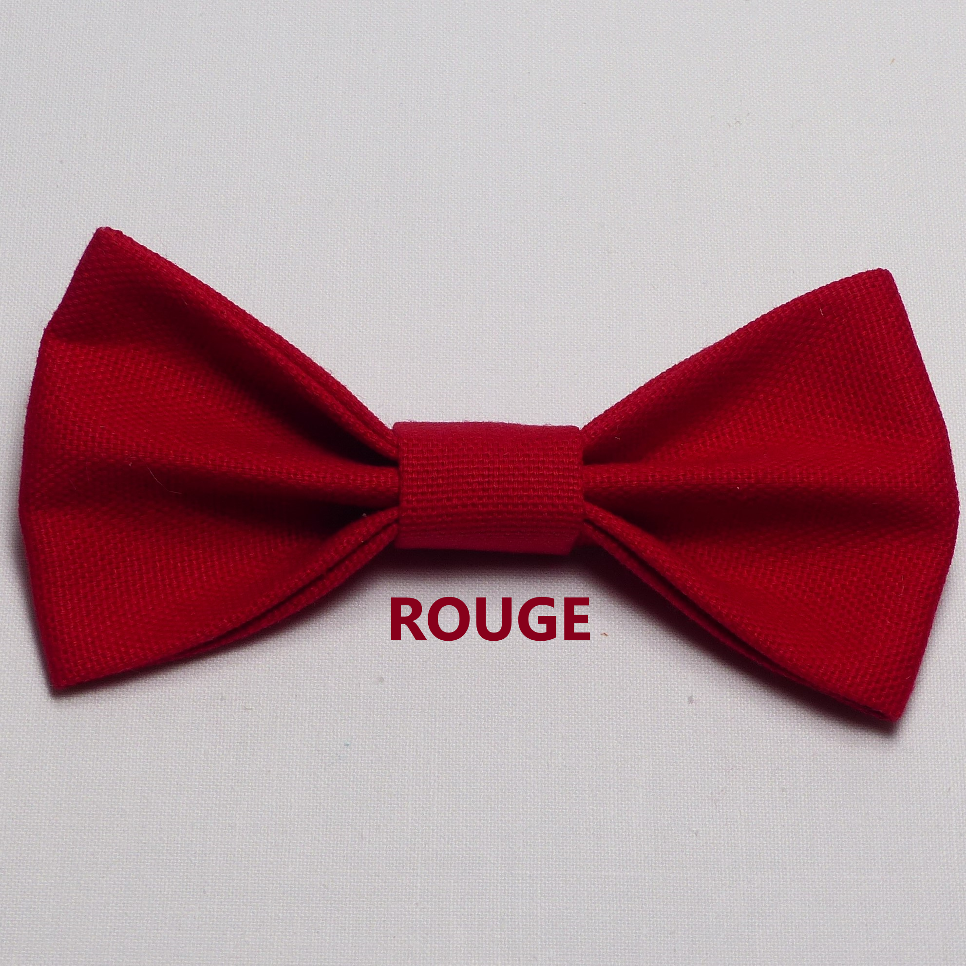 Noeud Papillon Mariage Rouge