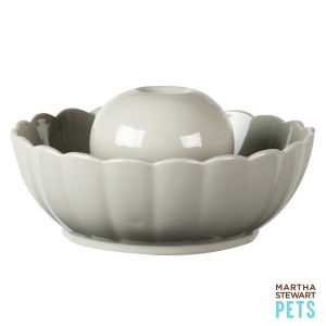ITEM #24: MARTHA STEWART CERAMIC PET FOUNTAIN (VALUE $110)