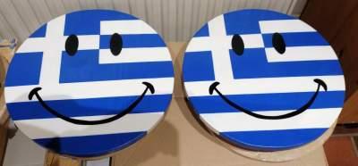 21_Grieks houten smiley:s