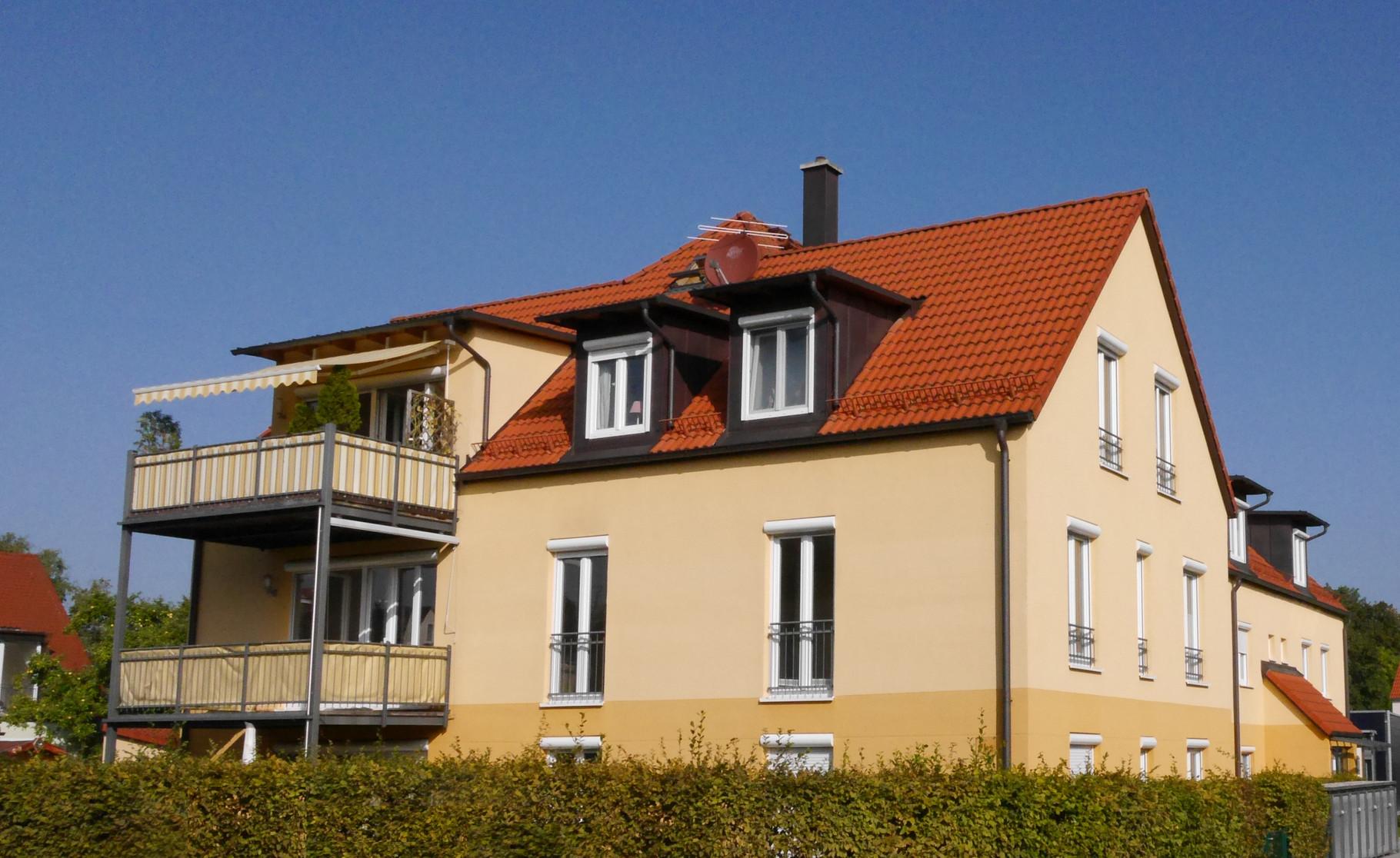3-Zimmer-Galerie-Wohnung mit Terrassenbalkon in 85221 Dachau