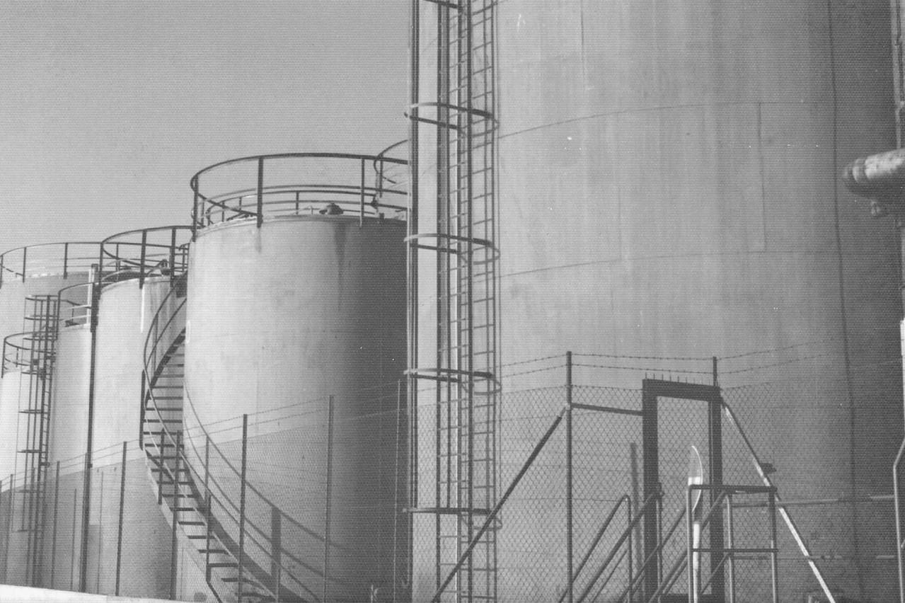 Tanklager Altona - Anfang der 80er