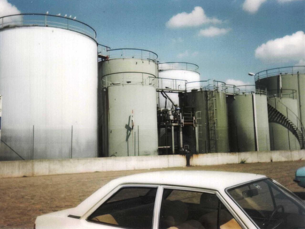 Tanklager Altona- Ende der 80er
