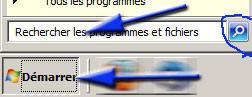 Recherche avec Windows