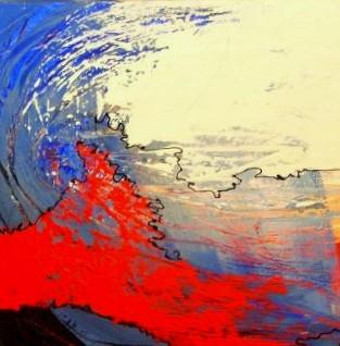 Nr. 426  / o.T. / 60 cm x 60 cm / Acryl auf Leinwand
