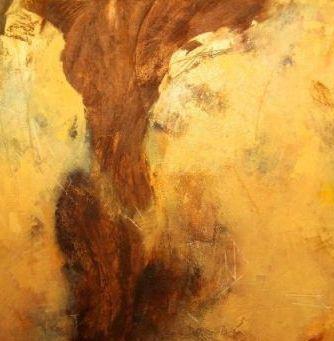 """Nr. 294 / """"Am Morgen danach"""" /  100 cm x 100 cm / Acryl auf Leinwand"""