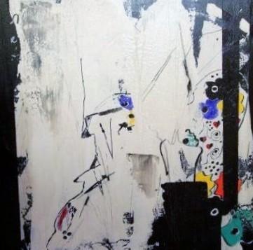 """Nr. 416 / """"Traumwelt"""" / 100 cm x 100 cm / Acryl auf Leinwand"""