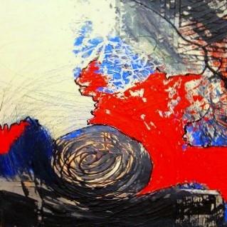 Nr.  427 / o.T. / 60 cm x 60 cm / Acryl auf Leinwand