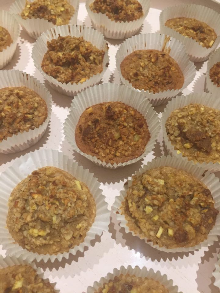 Appel- havermoutmuffins