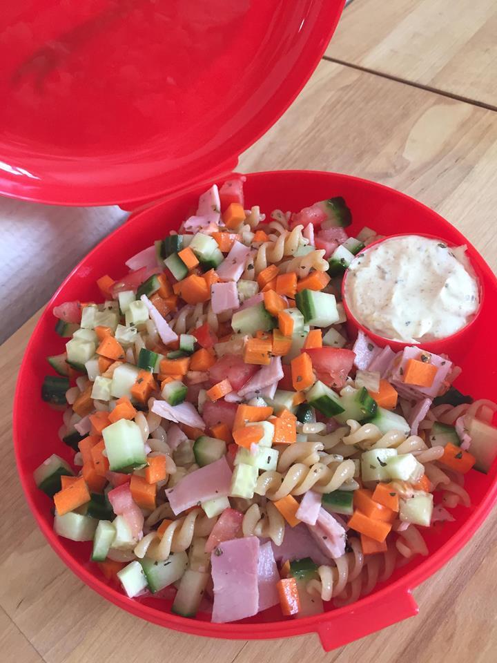 Kids proof lunch salad