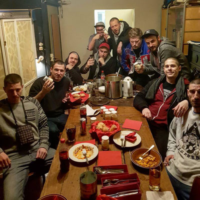 Chaostruppe im Elch, Chaossoundsystem, January 2018