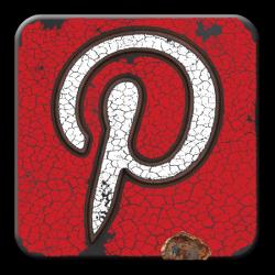 Pinterest Icon grunge