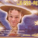 Le Prophète, ici c'est Philippe Derlet