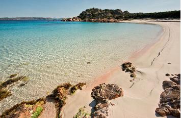 La Spiaggia Rosa in Sardegna