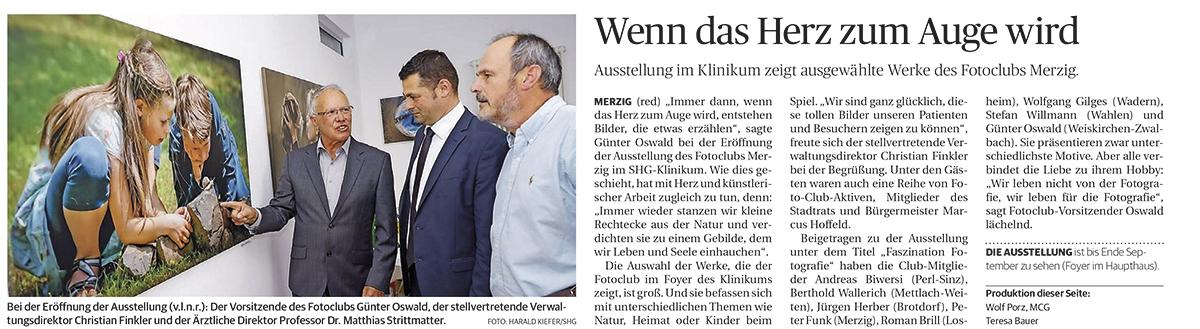 01.06.2018 in der Saarbrücker Zeitung