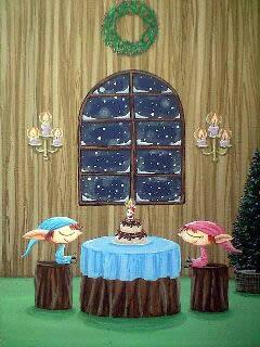 クリスマス:妖精と木のお部屋