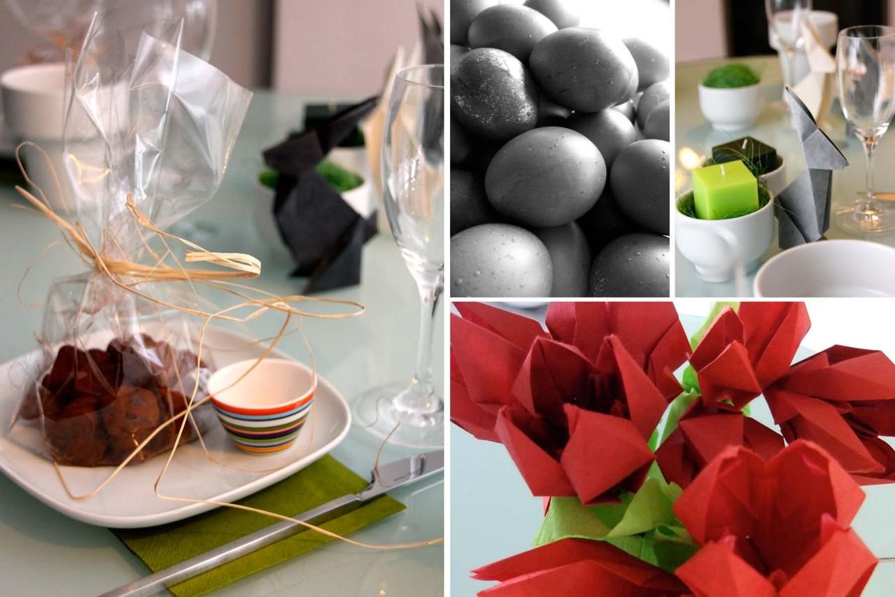 origami zum fest das weisse. Black Bedroom Furniture Sets. Home Design Ideas