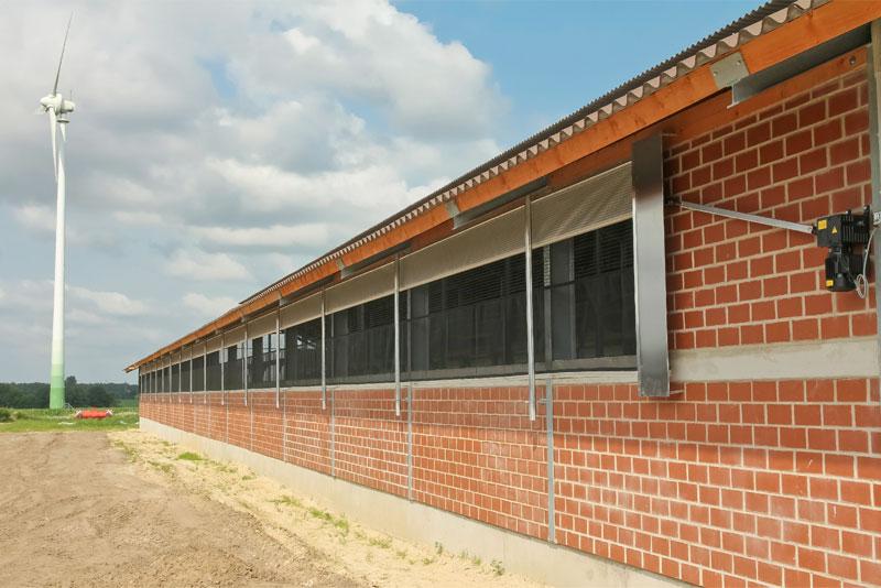 Beispiel: Curtains im Rinderstall |Menken & Drees