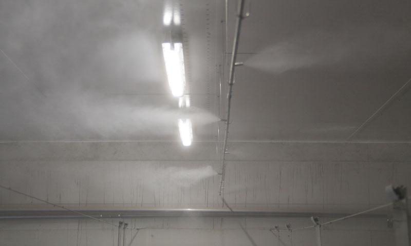 Hochdruckvernebelung – Highend Kühlung im Stall