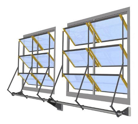 Fensterfassaden im Rinderstall - made by Menken & Drees