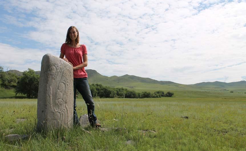Bronze age sculptures, Mongolia