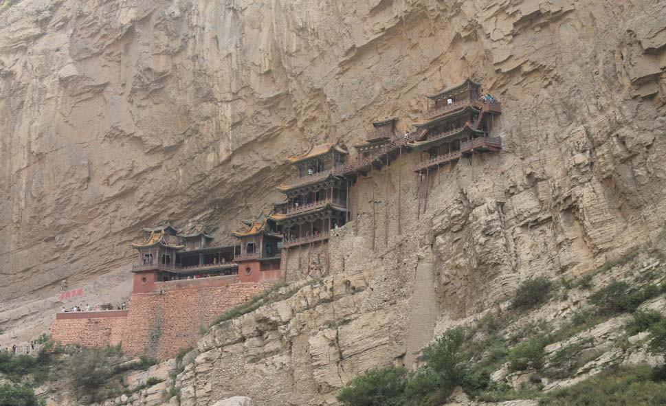 hanging monastry, China
