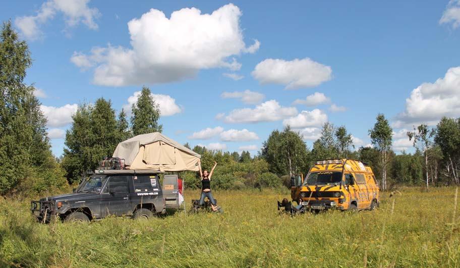 camp in Russia