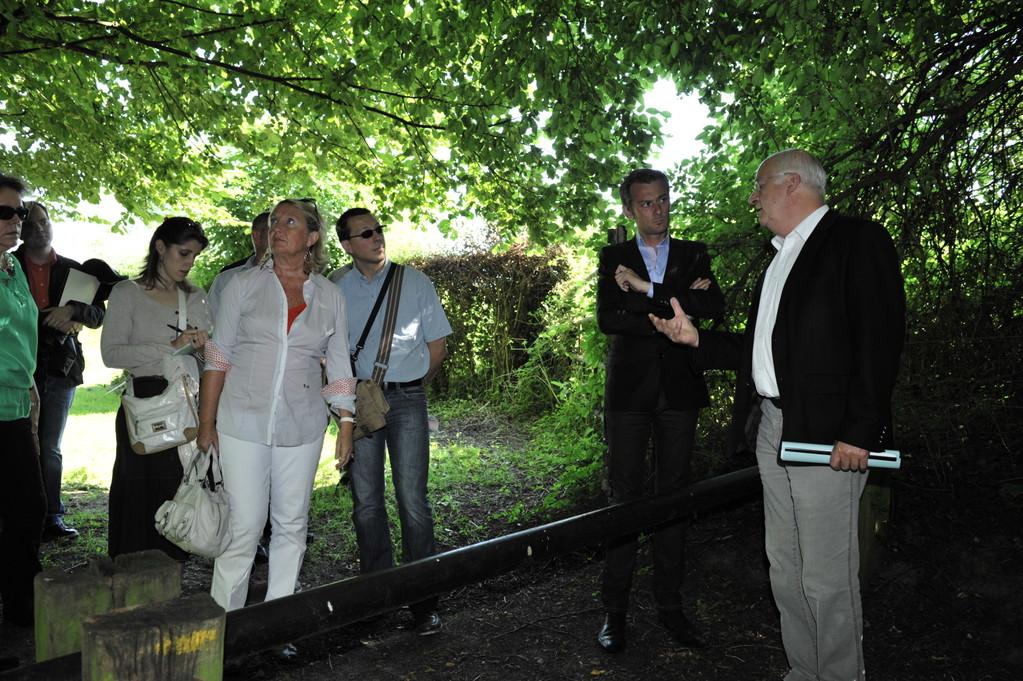 Monsieur le Maire et le jury de la tournée