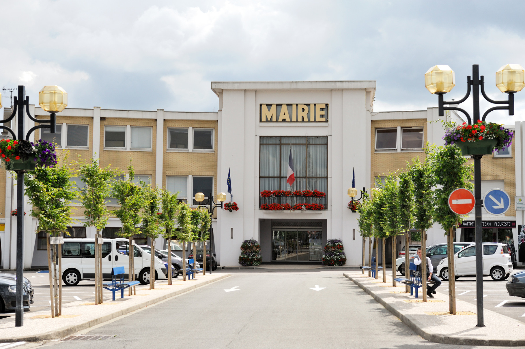 Saint-Martin-Laert, Mairie par Richard Soberka
