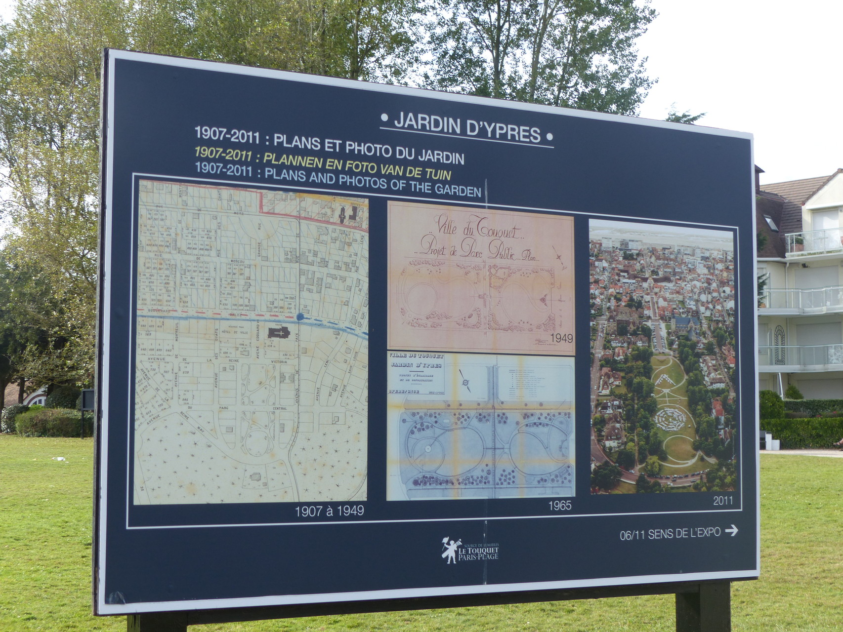 Les Jardins d'Ypres au Touquet